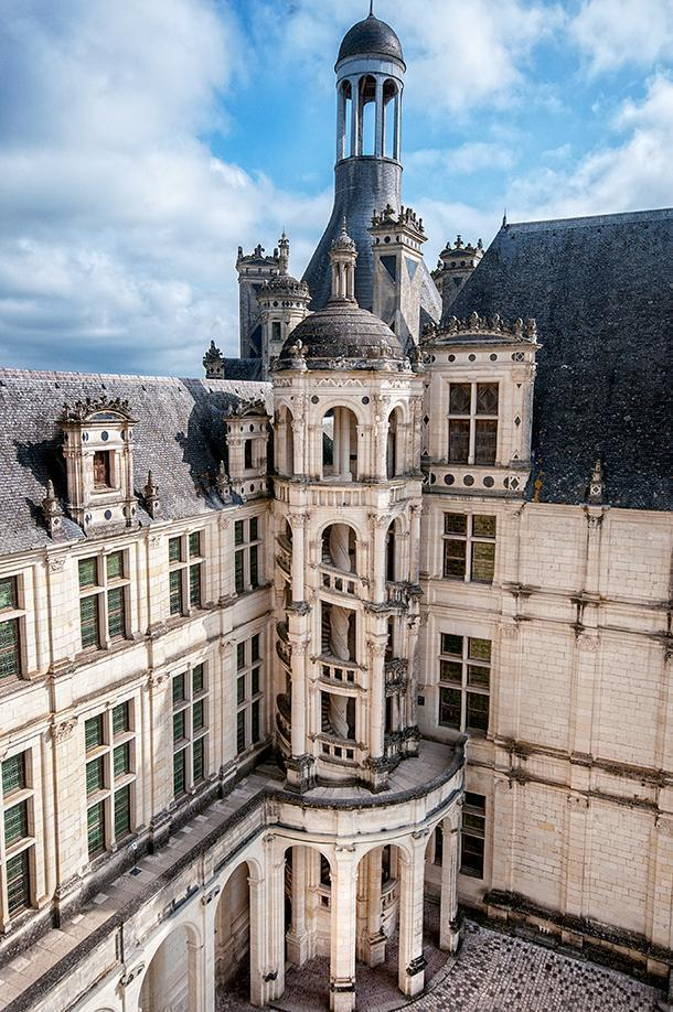 It's easy to see why Chambord is one of France's most popular chateaux.