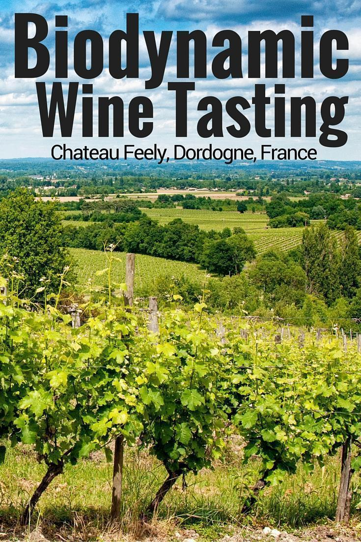 Biodynamic Wine Tasting at Chateau Feely, Dordogne, France
