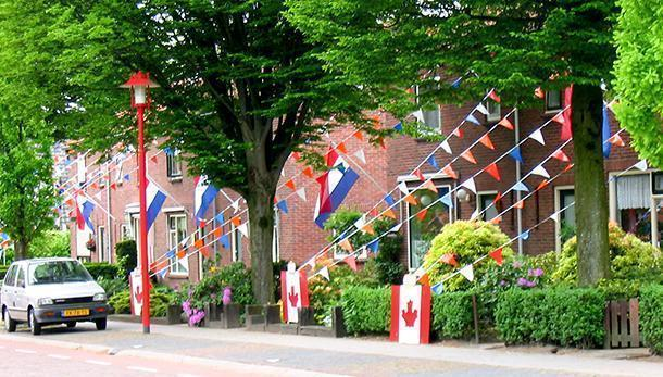 Proud to be a Canadian visiting Holten, the Netherlands
