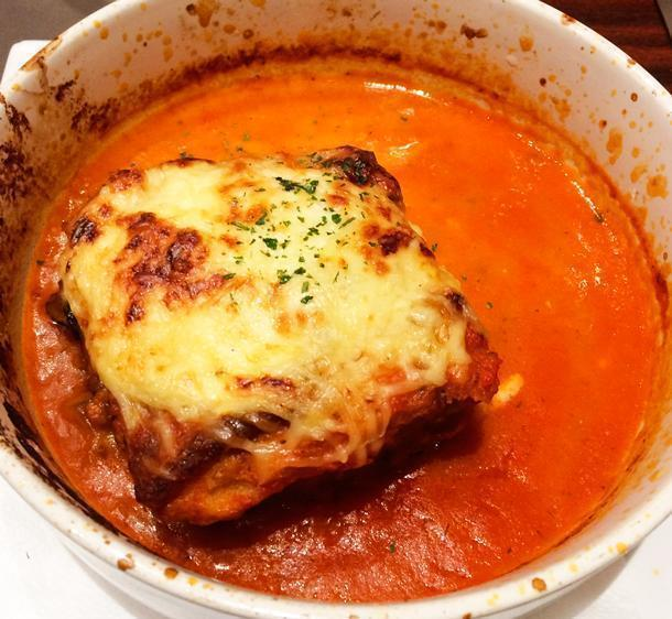 The 'oh so delicious' moussaka