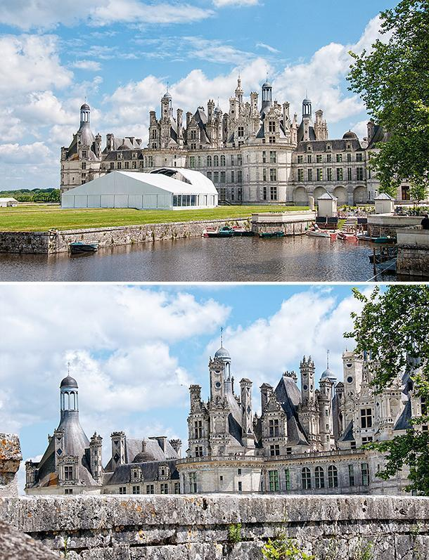 The giant Chateau de Chambord is one of the Loire Valley's most impressive castles