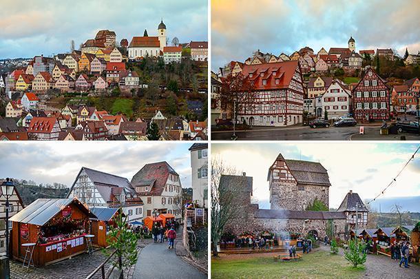 Altensteig Market is in one of the prettiest settings in Germany