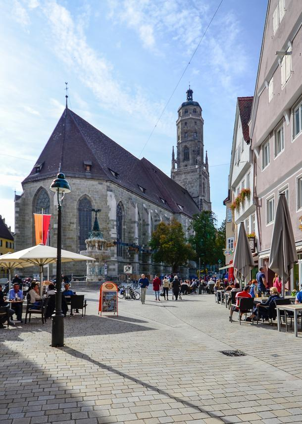 St Georg's church, Nordlingen, Germany