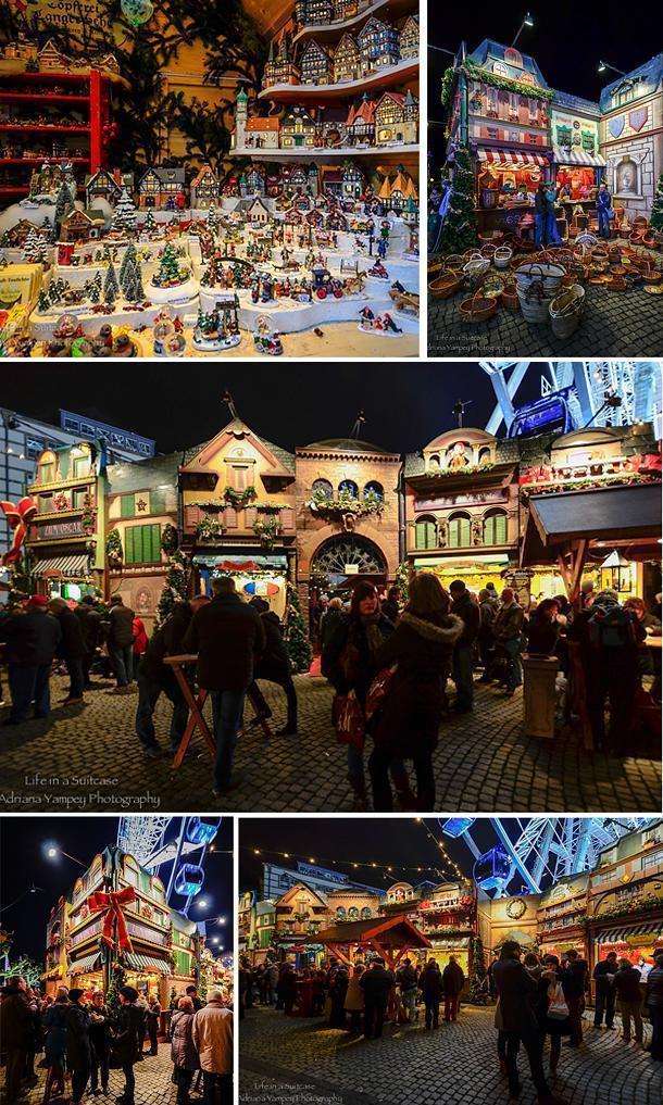 Düsseldorf Weihnachtsmarkt is like a storybook Christmas village