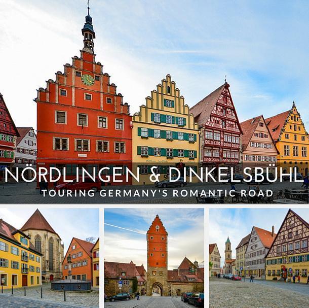 Nördlingen and Dinkelsbühl on Germany's Romantic Road