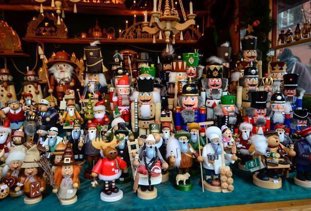 Bring cash if you plan to buy gifts like these at the Christmas Markets.