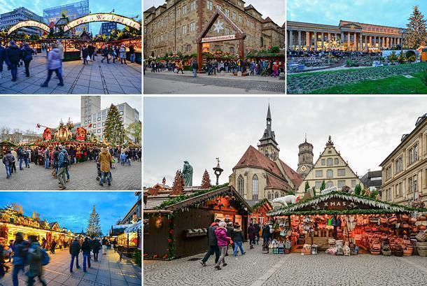 A Chritsmas wonderland at the Stuttgart Christmas Market