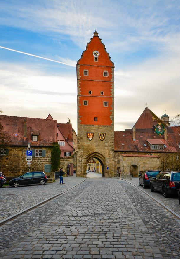 Wörnitz gate in Dinkelsbuhl, Germany
