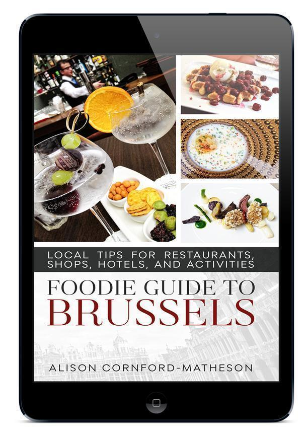 The Foodie Guide to Brussels ebook is available now for all devices