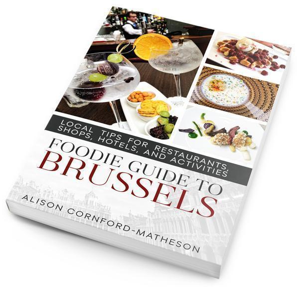If you prefer a physical copy, the Foodie Guide to Brussels paperback edition is also now available.