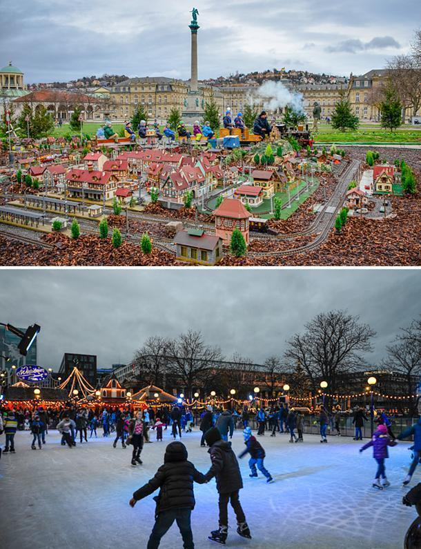 There's plenty of family fun at the Stuttgart Christmas Market