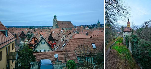 Walk around Dinkelsbühl's Wall