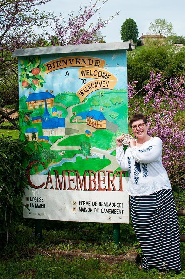 Getting cheesy in Camembert, France