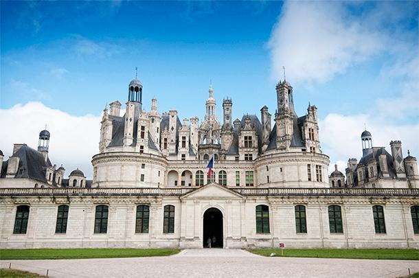 The Chateau Chambord is the largest of the Loire Valley castles