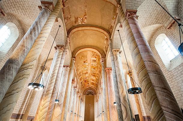 The Abbey Church of Saint-Savin-sur-Gartempe