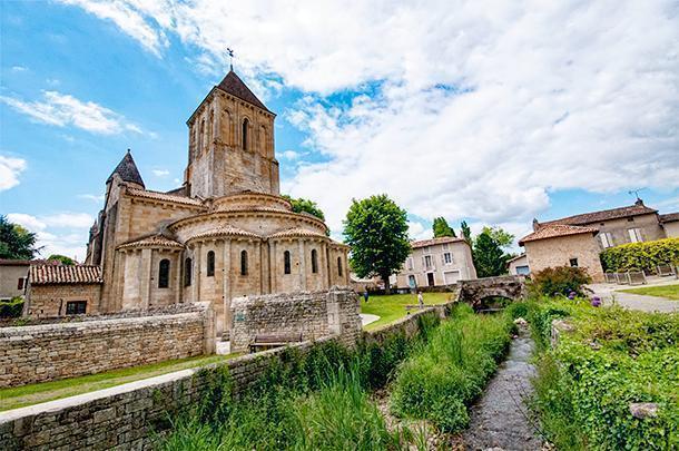 Exploring the village of Melle, in Poitou-Charentes