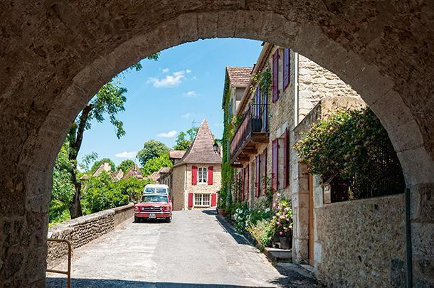 The Plus Beau Village of Limeuil, in Dordogne, France