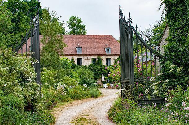 The lovely Aux Jardins des Thévenets, in Auvergne, France