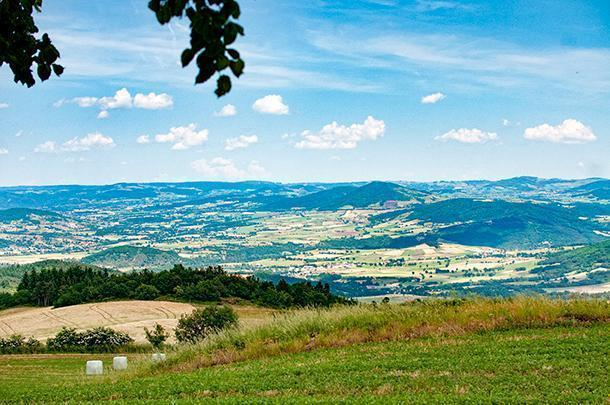 Great picnic views are a given in Auvergne, France