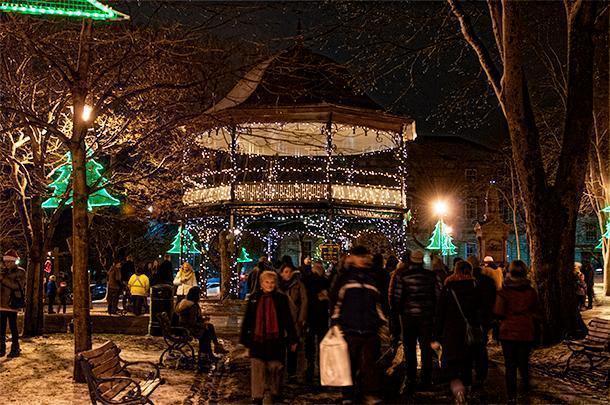 We enjoyed the holiday cheer in Saint John, New Brunswick
