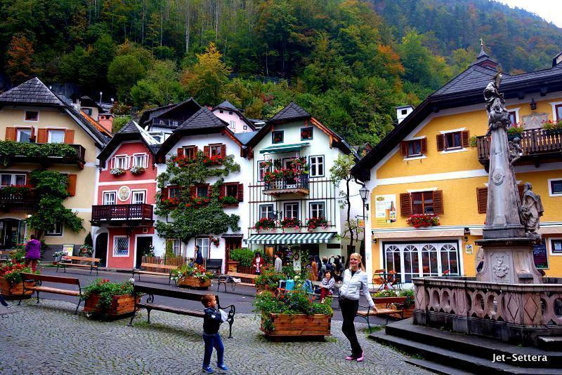 Picture-perfect Hallstatt, Austria