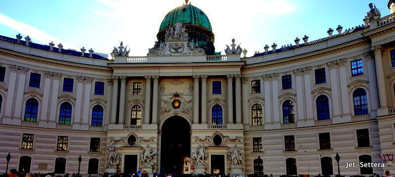 The Hofburg in Vienna is one of Austria's top tourist attractions