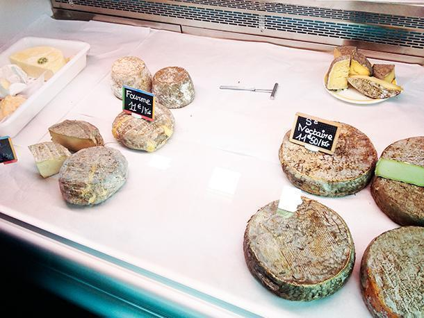 Saint-Nectaire cheese for sale at Ferme Randanne
