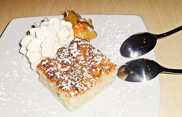 Coconut cake…yum!
