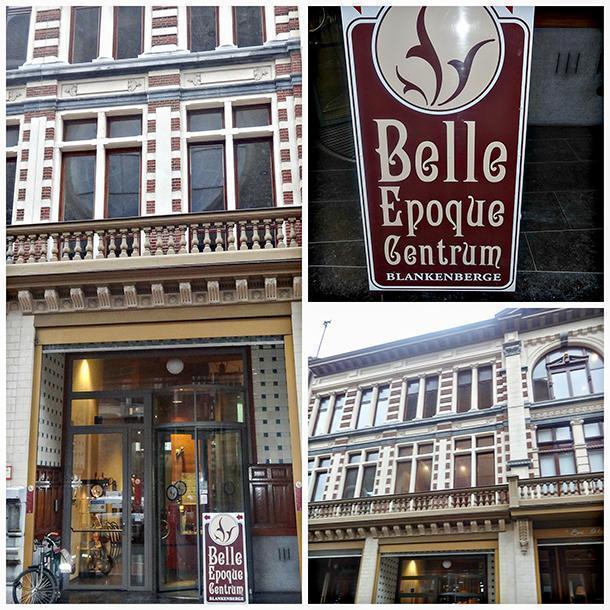 The Belle Epoque Centre with its Art Nouveau facade