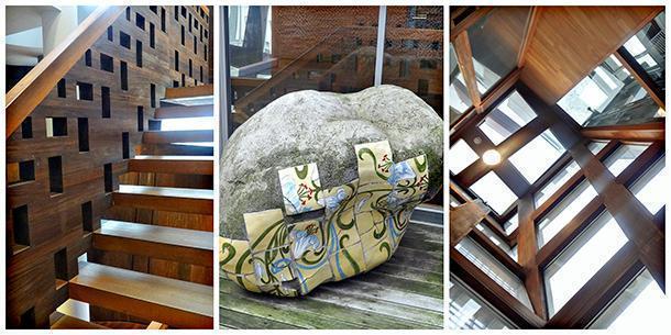 Awe-inspiring windows and stairs