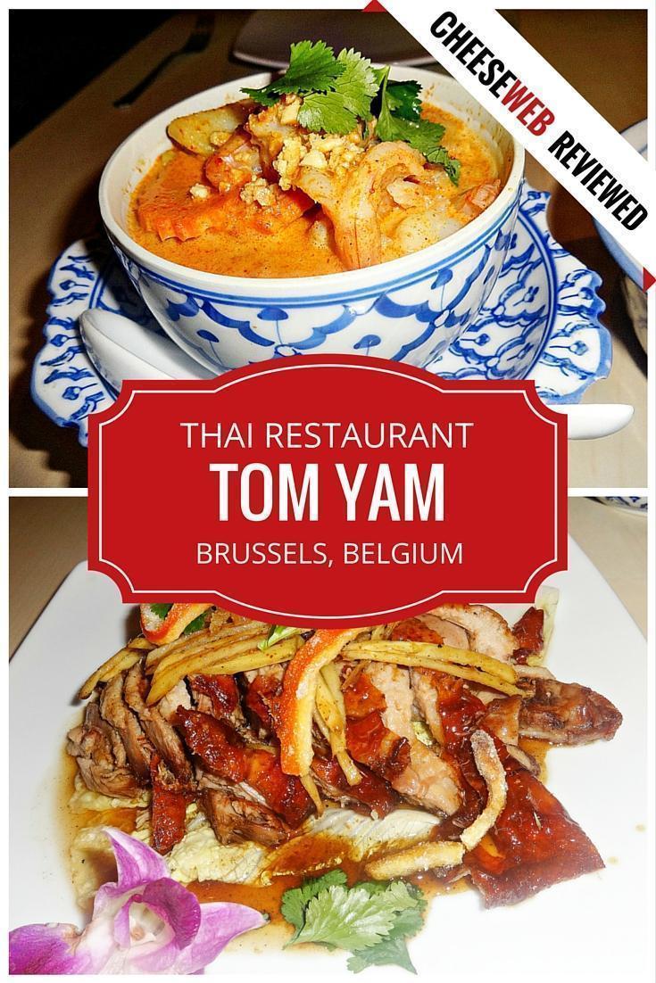 TOM YAM Thai Restaurant in Brussels, Belgium