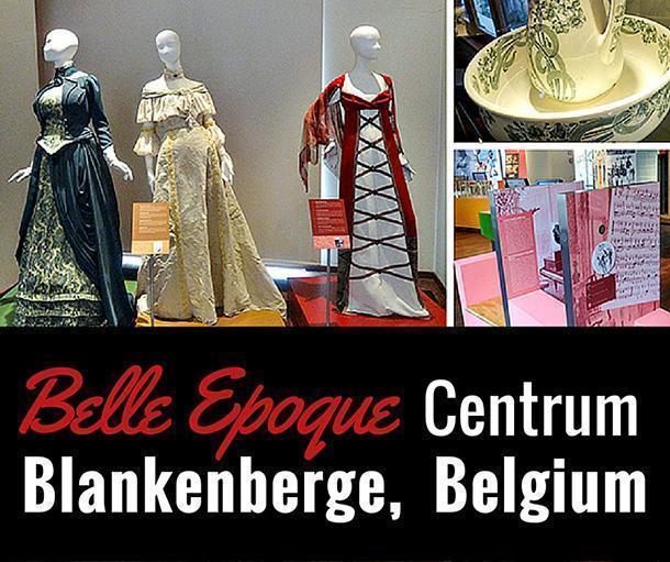 Visiting the Belle Epoque Centrum in Blankenberge, Belgium