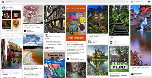 Pinterest is the ultimate in travel inspiration