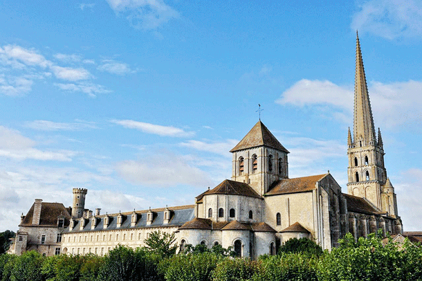The Abbey of Saint Savin is an impressive work of Roman architecture.