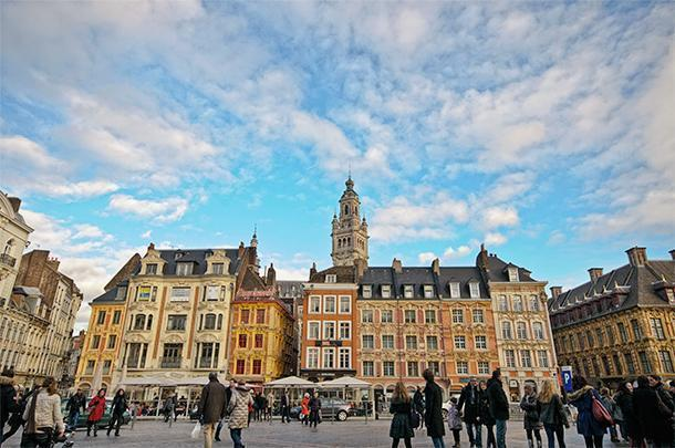 Explore Lille's historic centre and Veille Ville