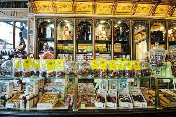 Meert is one of the many foodie shops in Lille, France