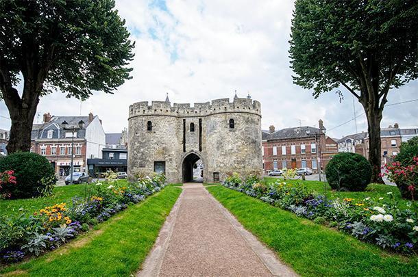 Explore Cambrai's historic centre on foot