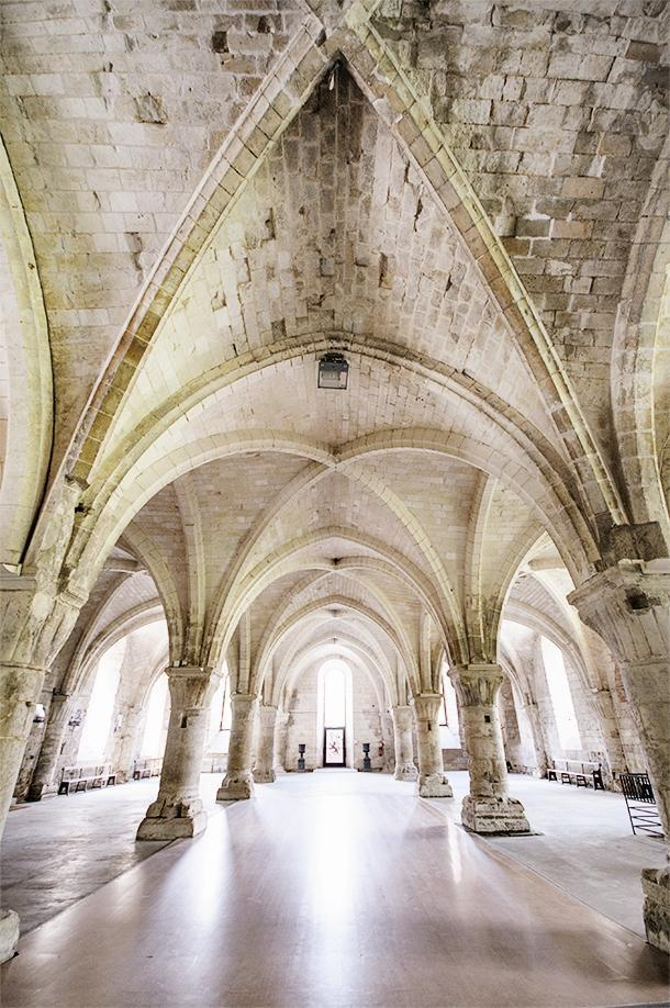 Don't miss the stunning Abbaye de Vaucelles in Nord-Pas-de-Calais, France