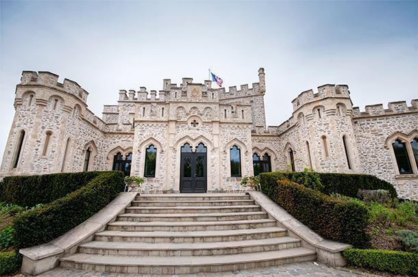The Chateau de Hardelot is a taste of England in France
