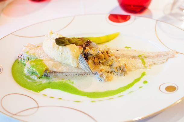 La Matelot, in Boulogne-Sur-Mer, serves stunning Michelin-starred seafood