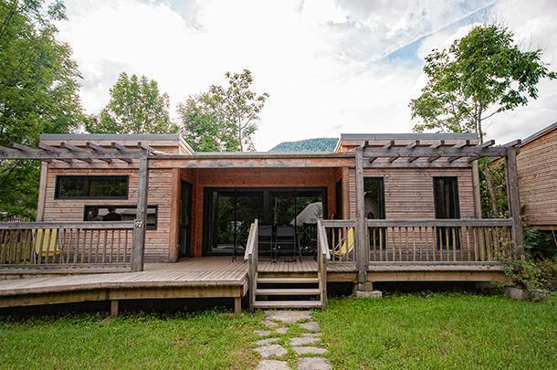 The Cottage is the ultimate in CosyCamp lusxury