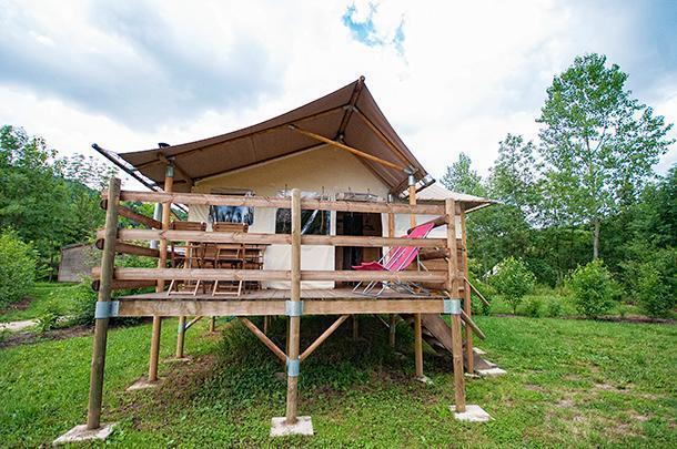 Glamping in style at CosyCamp