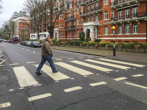 Walk across Abbey Road (carefully!)