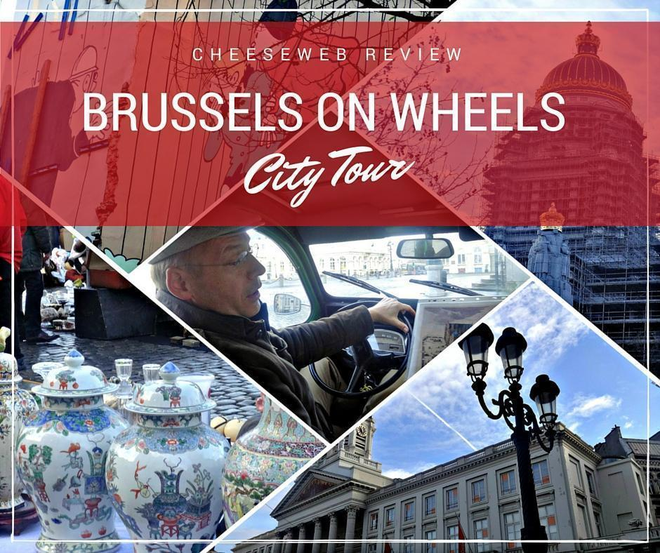 Explore Brussels in a 2CV with Brussels on Wheels City Tours