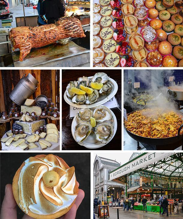 Borough Market is a foodie heaven, with plenty of shareable treats