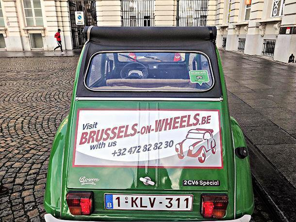 Explore Brussles, Belgium with Brussels on Wheels