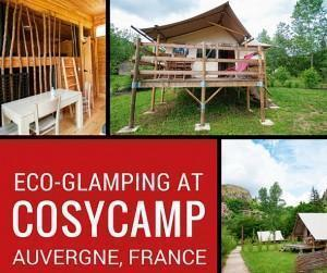 Glamping at CosyCamp in Auvergne, France