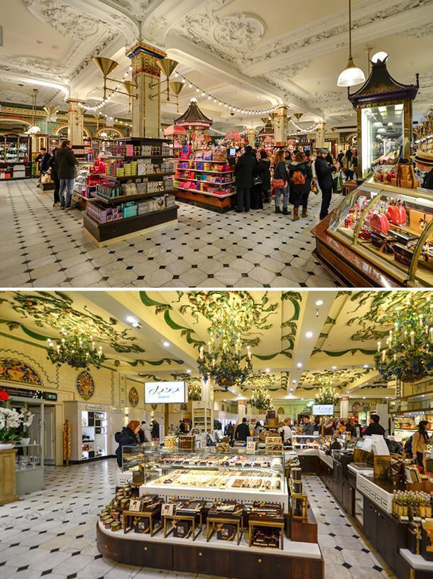 Harrods is expensive - but window-shopping is free