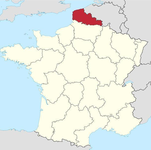 Nord-Pas-de-Calais, in Northern France