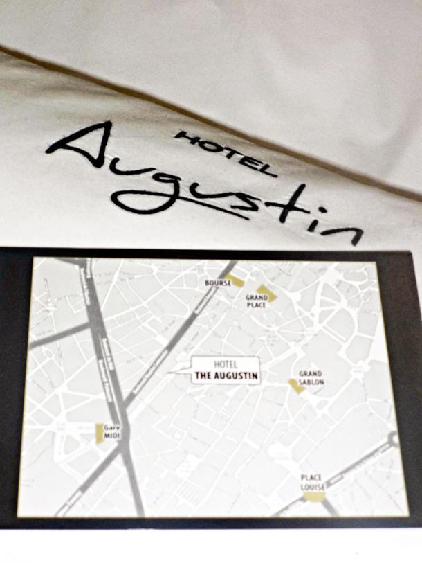 The Augustin Hotel has a great location in the heart of Brussels, Belgium